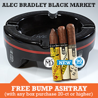 Alec Bradley Ashtray Freebie