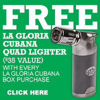 La Gloria Cubana Quad Lighter