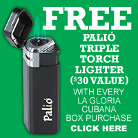 La Gloria Cubana Palio Lighter Freebie