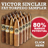 Victor Sinclair Fat Torpedo Sampler