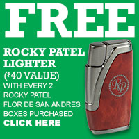 Rocky Patel Flor de San Andres Lighter Freebie
