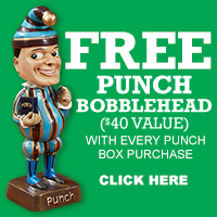 Punch Bobblehead Freebie