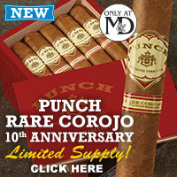 Punch Rare Corojo 10th Anniversary