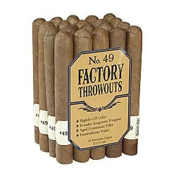 Factory Throw-Outs Cigars