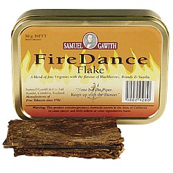 Sam Gawith Fire Dance Flake Pipe Tobacco