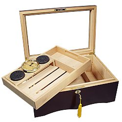 El Rey 150 Glass Top Humidor
