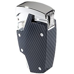 Carbon Fiber Jet Torch Lighter  Single Lighter