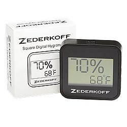 Zederkoff Hygrometer Square