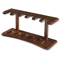 Walnut Pipe Rack Pipe Stands