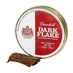 Dunhill Dark Aged Flake Pipe Tobacco