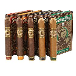 The Smoking Monk Variety Sampler Cigar Samplers