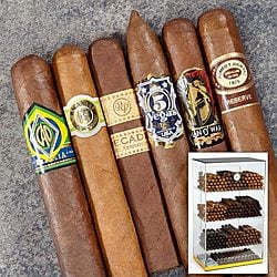 Big Brand Best Sellers Turn Key Sampler Cigar Samplers