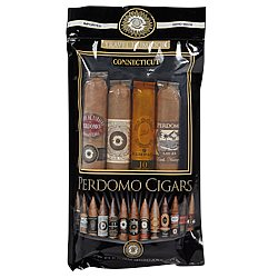 Perdomo 4-Pack Connecticut Humidified Sampler Cigar Samplers