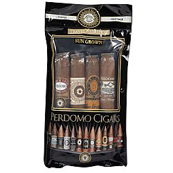 Perdomo 4-Pack Sun Grown Humidified Sampler