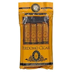 Perdomo 4-Pack Champagne Humidified Sampler