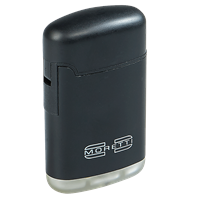 Moretti Spark Double Torch Lighter  Black