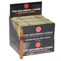 "Maker's Mark Bourbon-Infused Cigarillos (4.0""x28) Pack of 100 [10/10]"