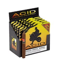 "ACID Cigars by Drew Estate Krush Red Cameroon (Cigarillos) (4.0""x32) Pack of 50"