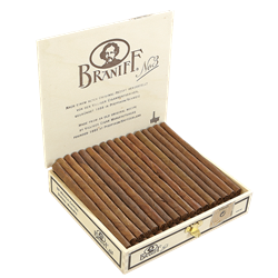 "Villiger Braniff Cigarillo #3 Maduro (Cigarillos) (4.6""x21) Box of 50"