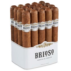 "Brioso Natural Toro (6.0""x52) Pack of 20"