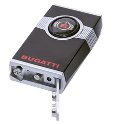 Bugatti Triple Table Lighter  Black