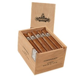 "Conspiracy by Cult Cigars Toro Grande (Gordo) (6.0""x60) Box of 20"
