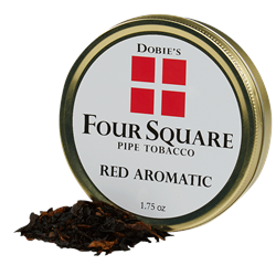 Dobie's Four Square - Red Aromatic  1.75 Ounce Tin