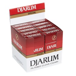 "Djarum Special Cigarillos (3.5""x18) Pack of 120 [10/12]"