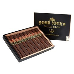 "Four Kicks Mule Kick Limited Edition 2018 (Toro) (5.8""x52) Box of 10"
