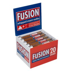 "Victor Sinclair Fusion Whipped Cream Vodka (Corona) (5.5""x42) Box of 20"