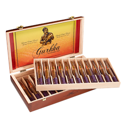 Gurkha The Royal Reserve Torpedo Tubo Maduro  Box of 22