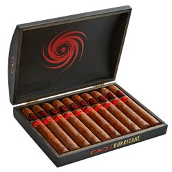 "CAO Hurricane Limited Edition Toro (6.0""x54) Box of 10"