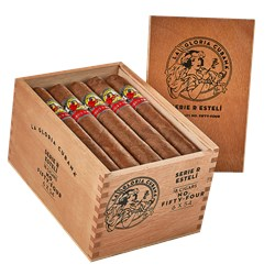"La Gloria Cubana Serie R Esteli No. 54 (Toro) (6.0""x54) Box of 18"