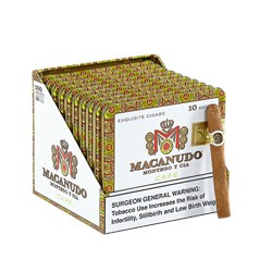 "Macanudo Cafe Ascot (Cigarillos) (4.2""x32) Pack of 100"
