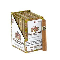 "Macanudo Cafe Court Tins (Cigarillos) (4.2""x36) Pack of 30"