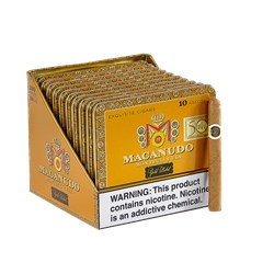 "Macanudo Gold Ascot (Cigarillos) (4.2""x32) Pack of 100 [10/10]"