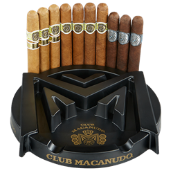Macanudo Ashtray Collection  10 Cigars
