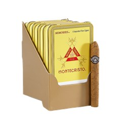 "Montecristo Memories (Cigarillos) (4.0""x33) Pack of 30"