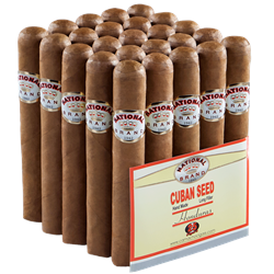 "National Brand Bundles Rothschild (Robusto) (5.0""x50) Pack of 25"
