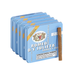 "Romeo y Julieta Miniatures Blue (Cigarillos) (3.0""x20) Pack of 100"