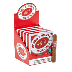 "Romeo y Julieta 1875 Petit Bully (Corona) (4.0""x38) Pack of 30"