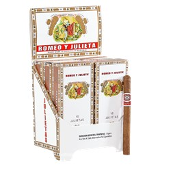 "Romeo y Julieta 1875 Julietas (Cigarillos) (4.8""x28) Pack of 60"