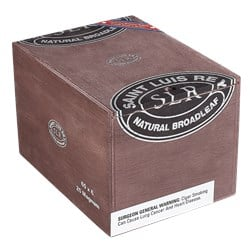 "Saint Luis Rey Natural Broadleaf Rothchilde (Gordo) (5.0""x56) Box of 25"