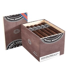 "Saint Luis Rey Natural Broadleaf Magnum (Gordo) (6.0""x60) Box of 25"