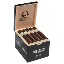 "Asylum Insidious Maduro 550 (Robusto) (5.0""x50) Box of 25"