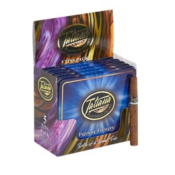 "Tatiana Flavored Fusion Frenzy (Cigarillos) (4.0""x30) Pack of 50"