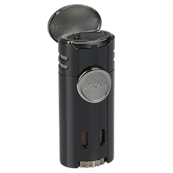 Xikar HP4 Quad Lighter - Matte Black