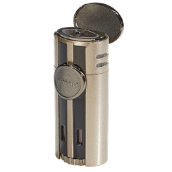 Xikar HP4 Quad Lighter Sandstone Tan