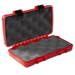 Xikar Travel Humidor Red  5-Count
