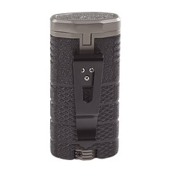 Xikar Tactical Triple Torch Lighter - Black Gun Metal  Black/Gun Metal